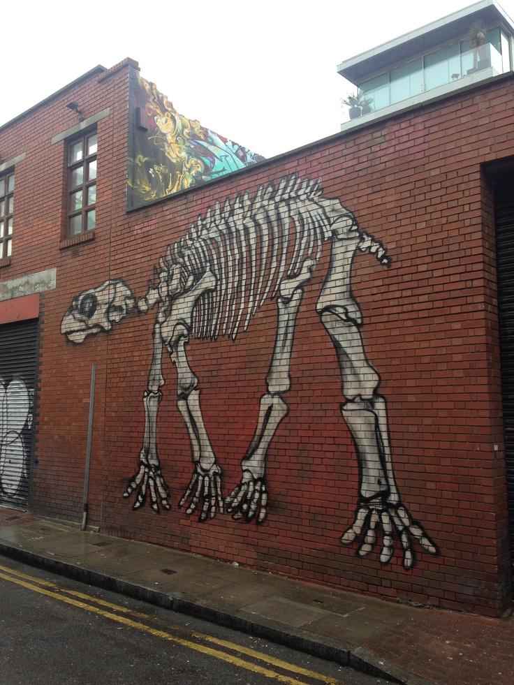skeleton #shoreditch