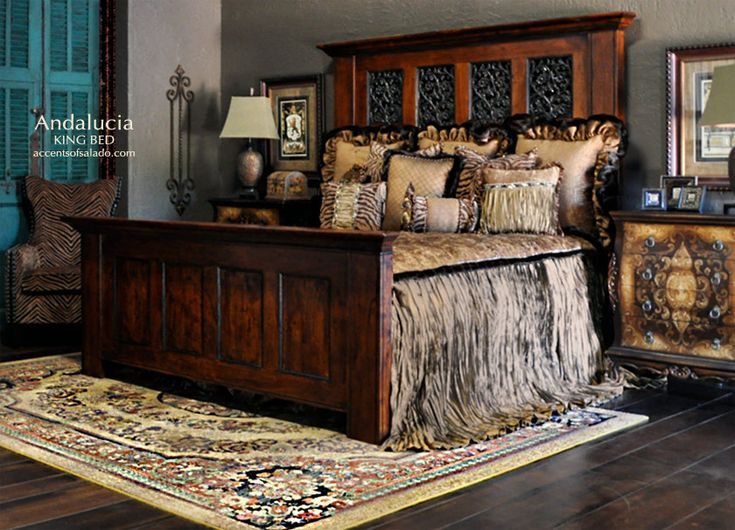 Find This Pin And More On Italian Tuscan Style Andalucia Old World Tuscan Bedroom Furniture