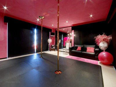 Large Games room - currently used for Pole Dancing Fitness Classes.