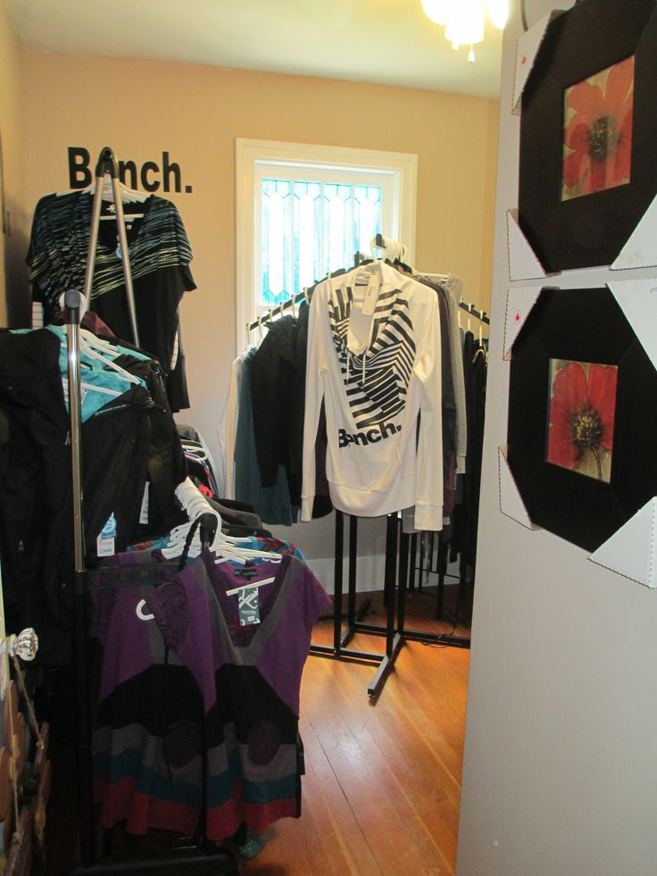 A selection of clothing available at Treehouse Treasures in St Benedict #treehousetreasures #stbenedict #lucienlake #prairiesedge #shopping