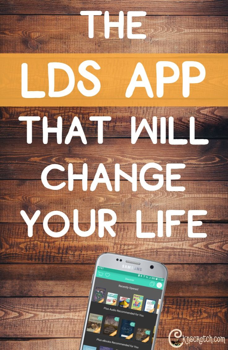 Seriously, the best LDS app out there- helps with church lessons and so much more