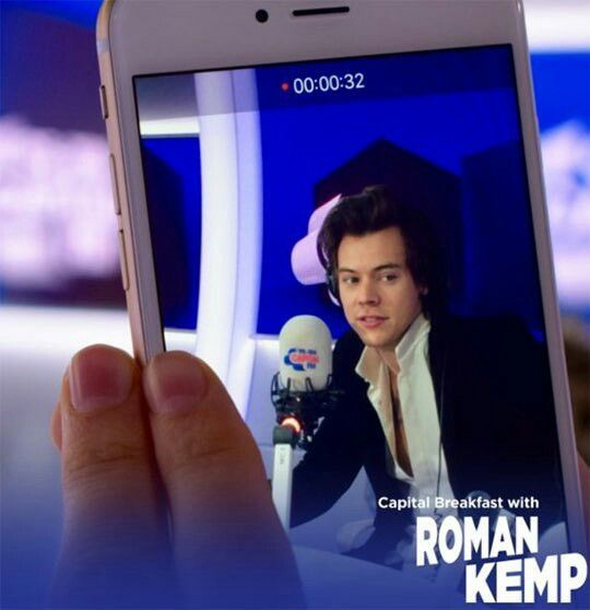 NEW | Harry on Capital Breakfast with Roman Kemp today, 05 May 2017. Follow rickysturn/harry-styles