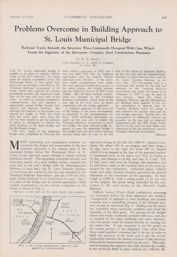 63 best all vintage st louis mo saint louis missouri images on 1929 article problems overcome in approach to st louis mo municipal bridge malvernweather Gallery