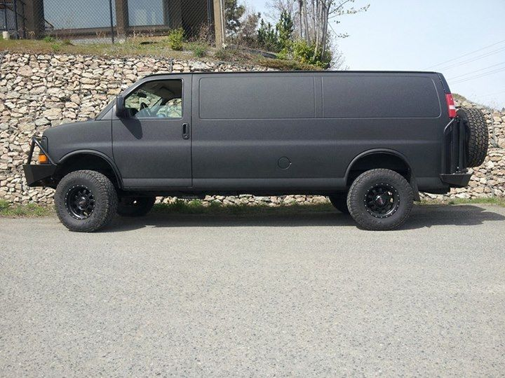 Clydesdale 4wd Chevy Duramax Van Aluminess Customer