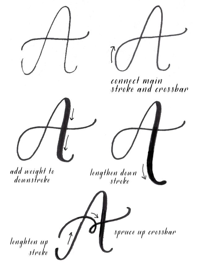 alisaburke: introduction to lettering