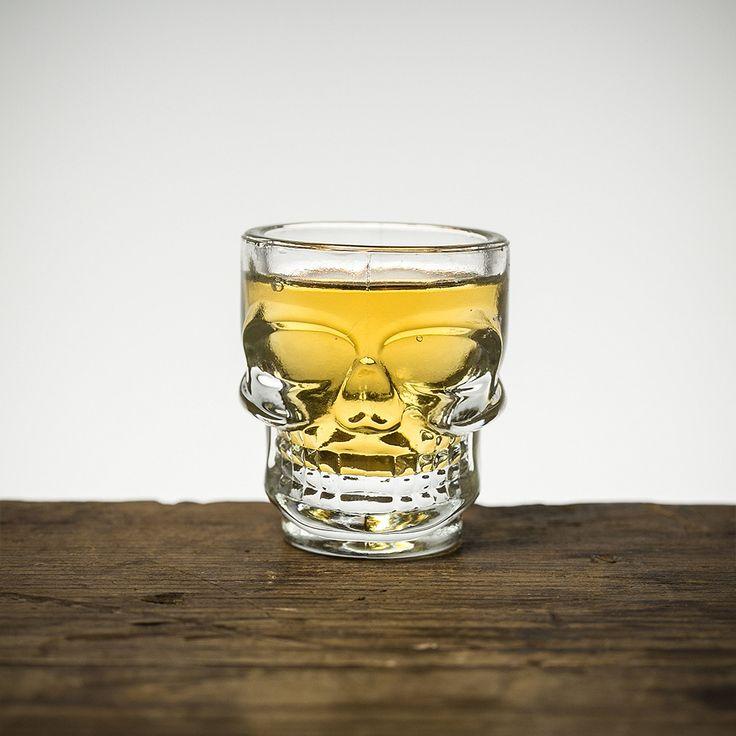 Skull Shot Glasses - 4-pack