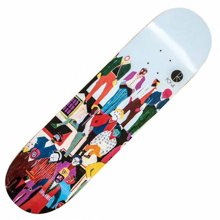 Polar Skateboards AMTK End Of Nowhere (B) Skateboard Deck 8.125'' - Polar Skateboards from Native Skate Store UK