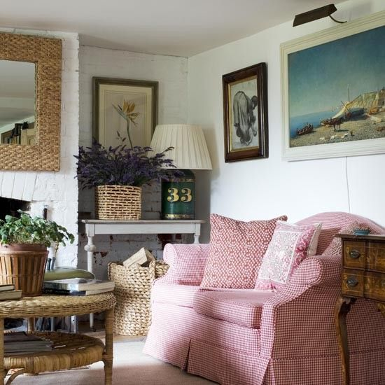 Living Room Detail West Sussex Country Cottage The Devil Is In The