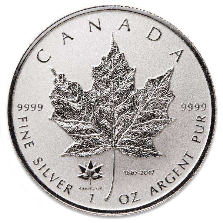 2017 Canada's 150th Anniversary 1 oz Privy Silver Maple Leaf
