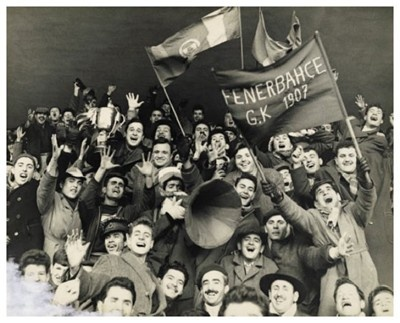 Fenerbahce Fans at Taksim Stadium