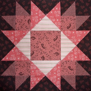 Kathy's Quilts: Chocolate Covered Strawberries Block 25