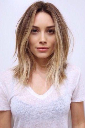 Groovy 1000 Ideas About Blonde Lob On Pinterest Lob Haircut Blondes Short Hairstyles Gunalazisus