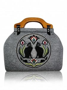 GOSHICO embroidered bowling bag FOLK http://www.mybags.co.uk/goshico-embroidered-bowling-bag-folk.html