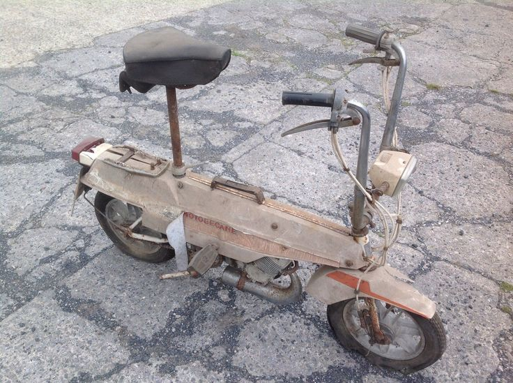 Motobecane Moby X Moped Motorcycle French 49cc Barn Find Collectable Vintage