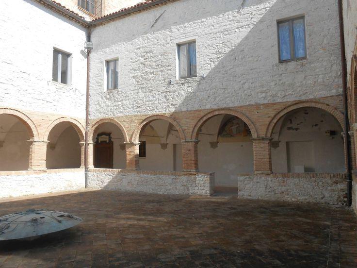 The St Francis cloister - Arcevia - Marche - Italy