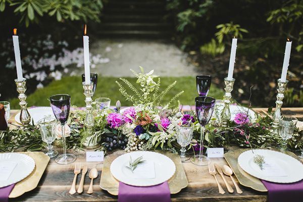 golden plum garden wedding - photo by Simply Rose Photography http://ruffledblog.com/golden-plum-garden-wedding