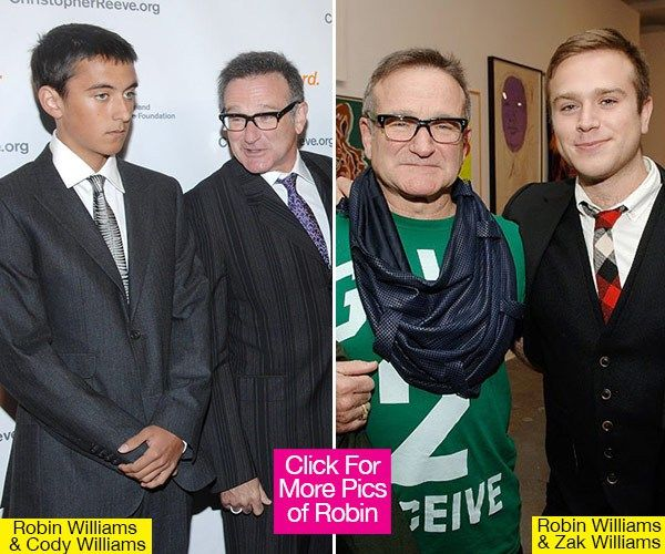Robin Williams' Sons Zachary and Cody Williams'