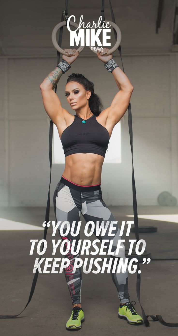 """You owe it to yourself to keep pushing."" Ashley Horner's 6-Week Trainer, Charlie Mike."