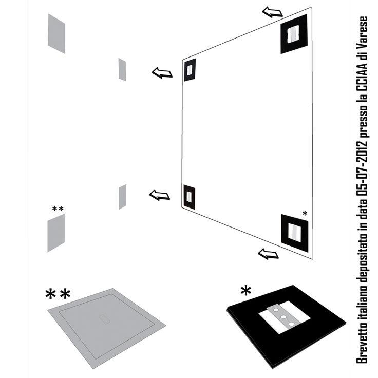 Grazie a questo sistema potete affiggere a parete pannelli grafici leggeri senza forare il muro, comporre immagini e sostituirle in modo semplicissimo. www.mtlook.it