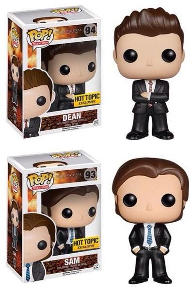 Hot Topic Exclusive Supernatural Dean and Sam » PopVinyl.net