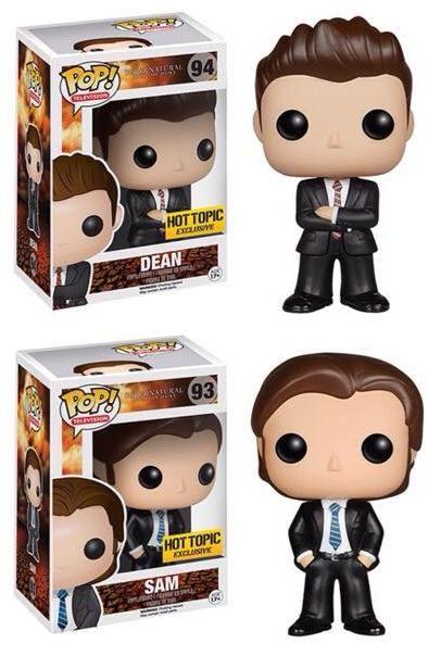 Hot Topic Exclusive Supernatural Dean and Sam » PopVinyl.net