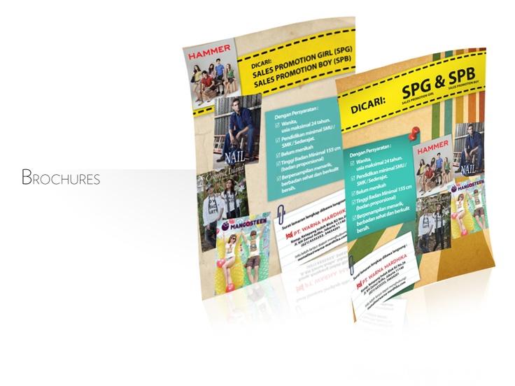 hiring brochures for teenager market