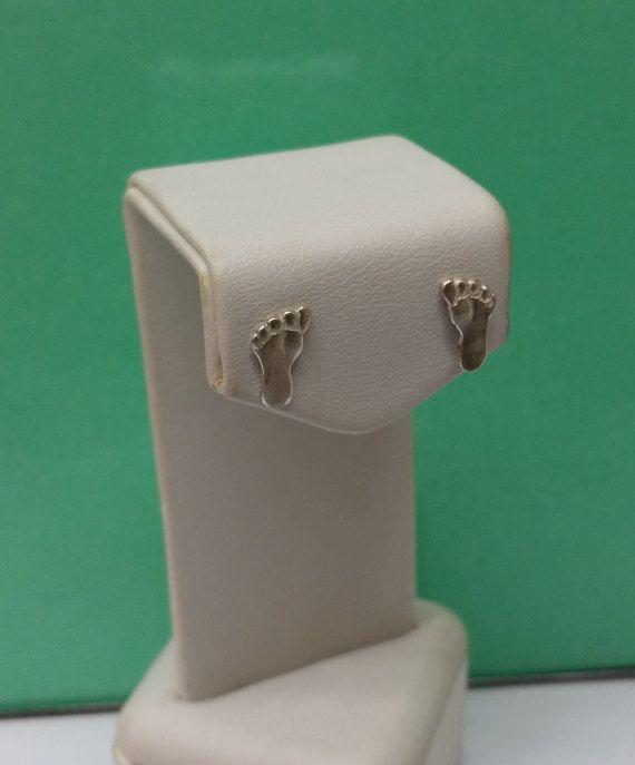 Ohrringe Ohrstecker Füße Silber 925 Schmuck SO127 von Schmuckbaron