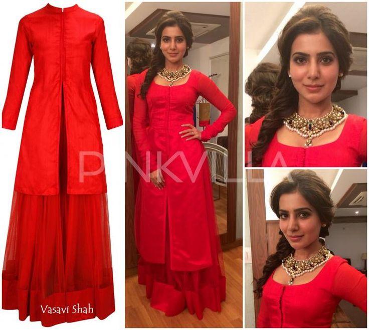 Samantha Prabu in Vasavi Shah