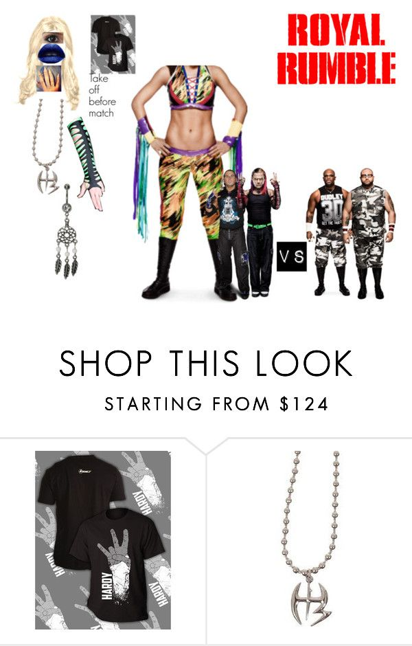 """Royal Rumble (2000)"" by anaeve ❤ liked on Polyvore featuring Kat Von D"
