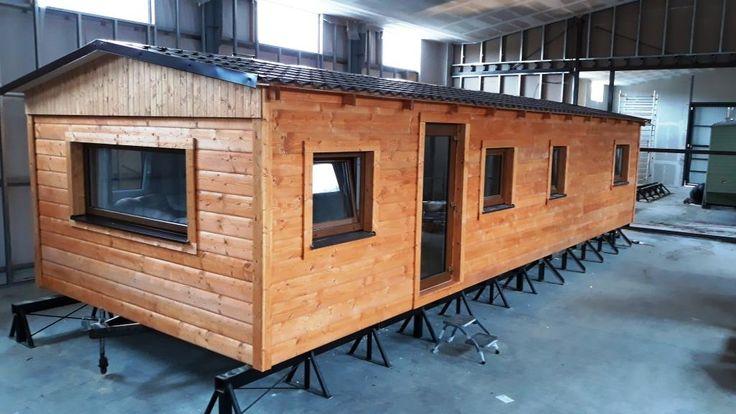 Další  naše realice celoročního dřevěného mobilního domu je připravena na cestu ke svému majiteli. Další informace o tom, jak zateplujeme dřevěné mobilní domy celoroční naleznete na http://www.mobilnidum.eu/mobilni-domy-celorocni.