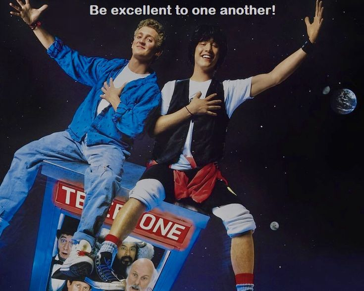 February 17, 1989 29 Years Ago Bill And Ted's Excellent Adventure With  Bill S. Preston, Esquire (Alex Winter) And Ted 'Theodore' Logan (Keanu Reeves) Was Released. Bill & Ted's Excellent Adventure is a 1989 American science-fiction comedy buddy film in which two slackers travel through time to assemble a menagerie of historical figures for their high school history presentation.  https://en.m.wikipedia.org/wiki/Bill_%26_Ted%27s_Excellent_Adventure