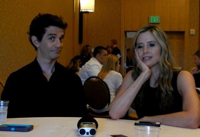Intruders at SDCC 2014: James Frain & Mira Sorvino Interview