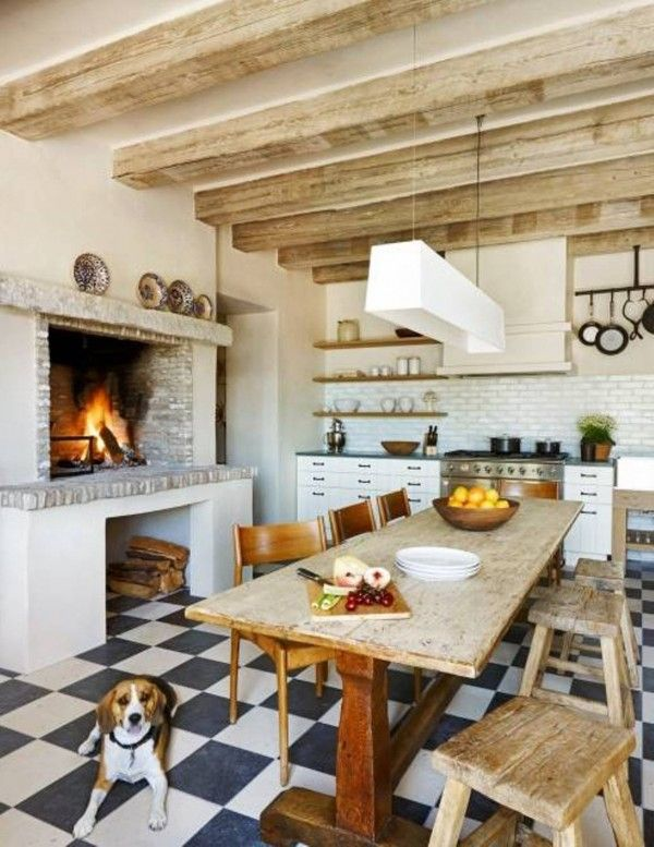 17 best images about kitchen happiness on pinterest for Best colors for rustic kitchen cabinets
