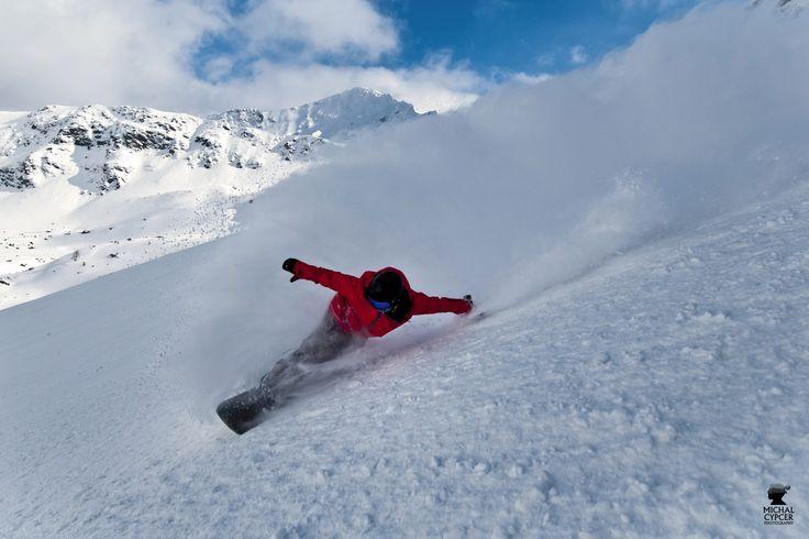 powder in Tatras mountain
