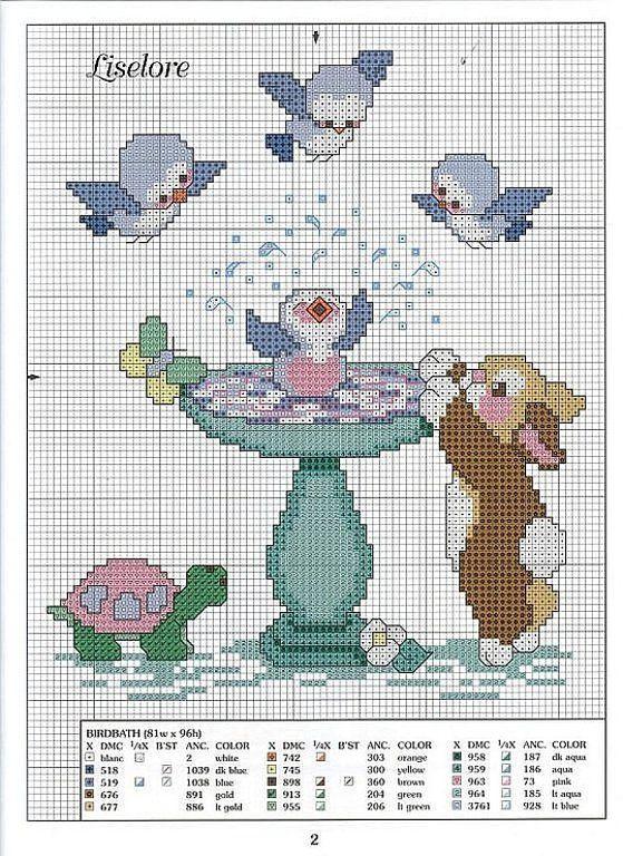 graficos infantiles punto de cruz   Aprender manualidades es facilisimo.com