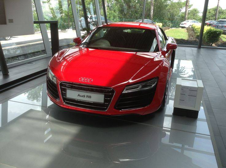 Audi R8 in Red ( Front )