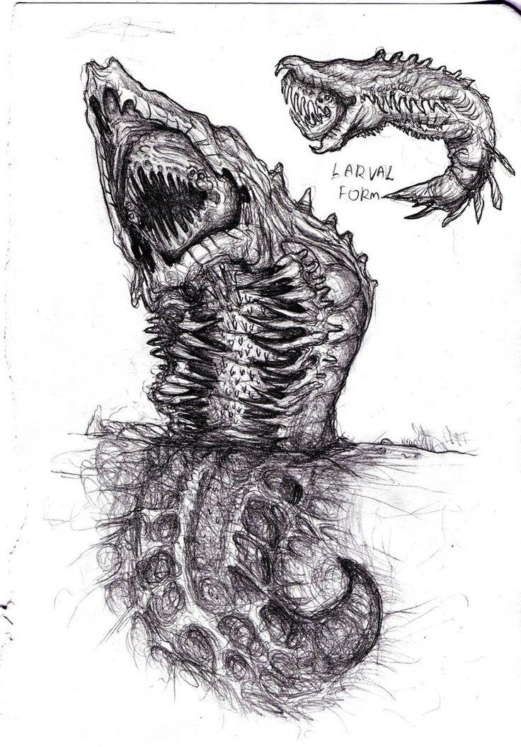 Charybdis the Sea Monster by KingOvRats.deviantart.com on @DeviantArt