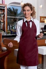 PAGAMENTO ANCHE ALLA CONSEGNA Grembiule Cucina Donna da Lavoro Cuoco Chef Alimentare Abbigliamento Abiti