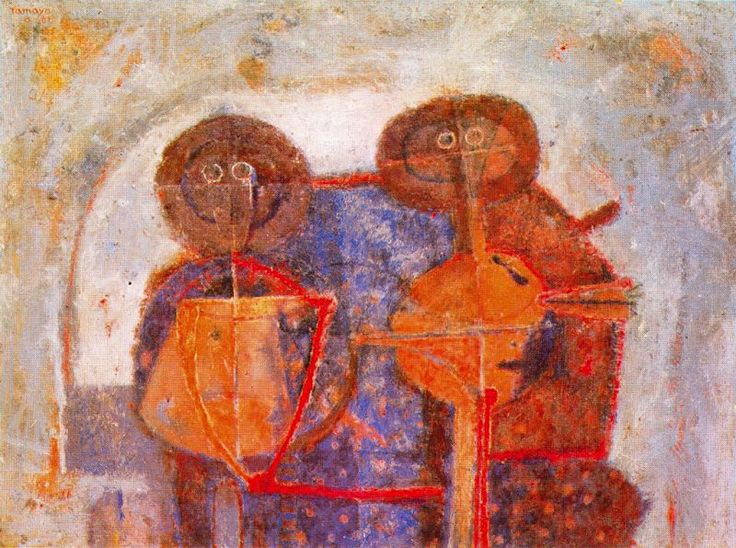 89 best barely figurative images on pinterest for Mural rufino tamayo
