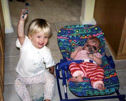 おもしろ拾い画像:子供の戦い - ビルダー症候群
