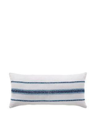 55% OFF Coyuchi Ombre Linen Pillow, White/Indigo