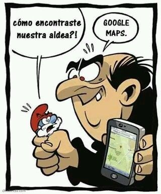 humor grafico papa pitufo