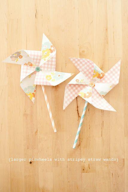 paper pinwheel tutorial