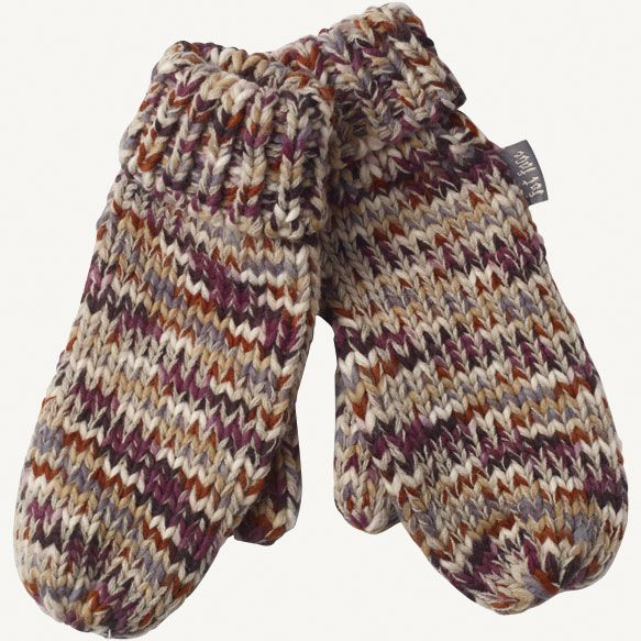 Multi Coloured Mittens at Fat Face £18