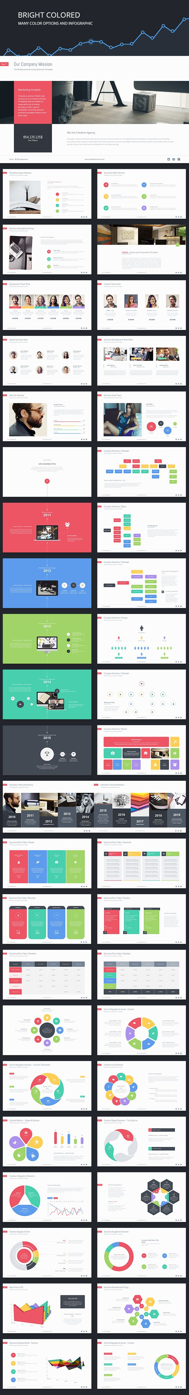 UNIQ-X Multipurpose PowerPoint Template #design Download: http://graphicriver.net/item/uniqx-multipurpose-template/11704189?ref=ksioks