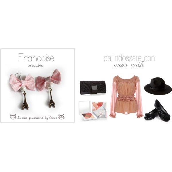 Francoise - earrings, created by alixia88.polyvore.com