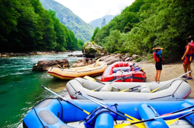 Montenegro White-Water Rafting Day Trip from Dubrovnik 						Escape Dubrovnik for an exciting white-water rafting tour in Montenegro! The Tara River runs through the largest canyon in Europe and offers Class III and Class IV rapids for your rafting enjoyment. As you learn how to paddle through white-water rapids, you'll take in the magnificent scenery of the Tara River Gorge (also known as the Tara River Canyon), a UNESCO World Heritage Site and part of Durmitor National Park....