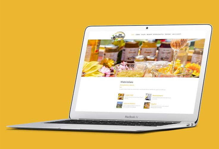 This is the layout of Finocchio's website. A honey farm. Made with the HTML code and CSS, using Wordpress CSM. Hope you like it!