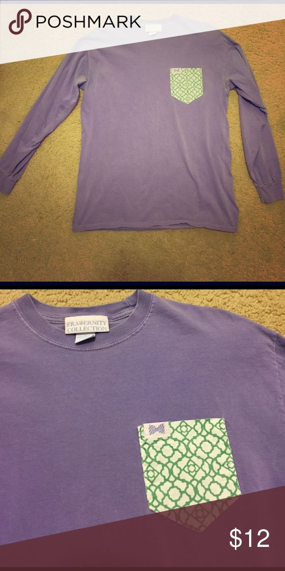 Fraternity Collection Long Sleeve T Excellent condition! Barely worn! Unisex size M fraternity collection Tops Tees - Long Sleeve