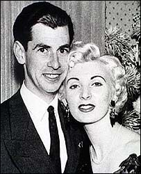David Blakely and Ruth Ellis, last woman to be hanged for murder in the UK